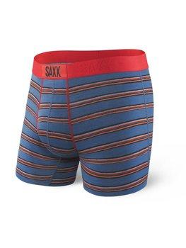 42c33b1e6a932d Saxx, Bokserki męskie, Vibe Boxer Modern Fit, niebieski-czerwony, rozmiar L