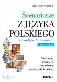 Scenariusze z języka polskiego. Od antyku do oświecenia-Nagalska Agnieszka