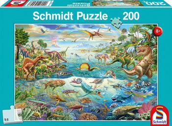 Schmidt, puzzle  Świat dinozaurów-Schmidt