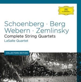 Schoenberg/Berg/Webern/Zemlinsky: Complete String Quartets-Various Artists