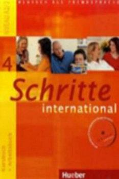 Schritte international 4. Kursbuch + Arbeitsbuch + Audio-CD zum Arbeitsbuch und interaktiven Übungen-Hilpert Silke, Kerner Marion, Niebisch Daniela
