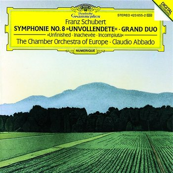 "Schubert: Symphony No.8 ""Unfinished""; Grand Duo - Chamber Orchestra of Europe, Claudio Abbado"