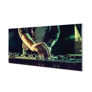 Ścienny panel kuchenny Konsola DJ słuchawki 120x60-Tulup