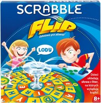 Scrabble, gra logiczna Scrabble Flip, CJN65