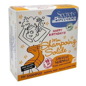 Secret De Provence, szampon w kostce włosy normalne, 85 g-Secret De Provence
