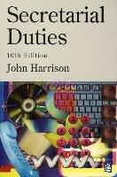 Secretarial Duties 10th Edition - Paper-Harrison John