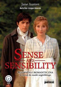 Sense and Sensibility. Rozważna i Romantyczna w wersji do nauki angielskiego-Austen Jane, Fihel Marta, Komerski Grzegorz