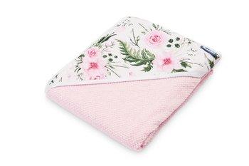 Sensillo, Krepa, Okrycie kąpielowe, Różowy, 100x100 cm-Sensillo