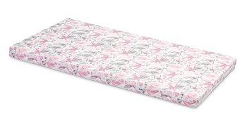 Sensillo, Materac/Wkłąd do łóżeczka niemowlęcego, Ptaki różowe, 60x120 cm-Sensillo
