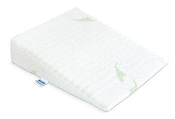 Sensillo, Poduszka klin do łóżeczka, Luxe Aloe Vera, 30x38 cm-Sensillo