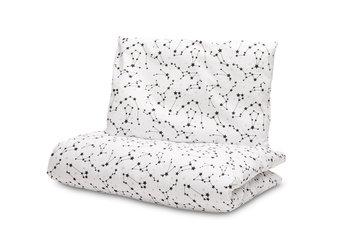 Sensillo, Pościel niemowlęca, 2-elementowa, Gwiazdozbiór, Biały, 100x135 cm -Sensillo