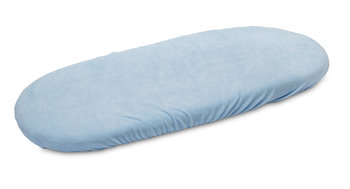 Sensillo, Prześcieradło do wózka, frotte, Niebieski, 35x75 cm-Sensillo