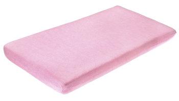 Sensillo, Prześcieradło nieprzemakalne, Frotte, Różowy, 60x120 cm-Sensillo