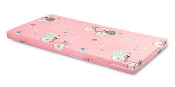 Sensillo, Wkład do łóżeczka, Rowery, Różowy, 60x120 cm -Sensillo