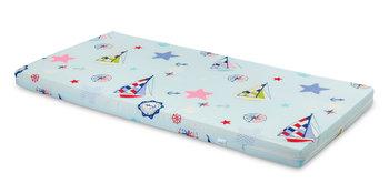 Sensillo, Wkład do łóżeczka, Żaglówki, Niebieski, 60x120 cm -Sensillo