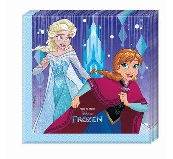 Serwetki, Frozen Elsa - Kraina Lodu, 33 cm, 20 sztuk-Procos