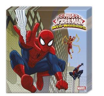Serwetki, Spiderman Web Warriors, 33 cm, 20 sztuk-Procos