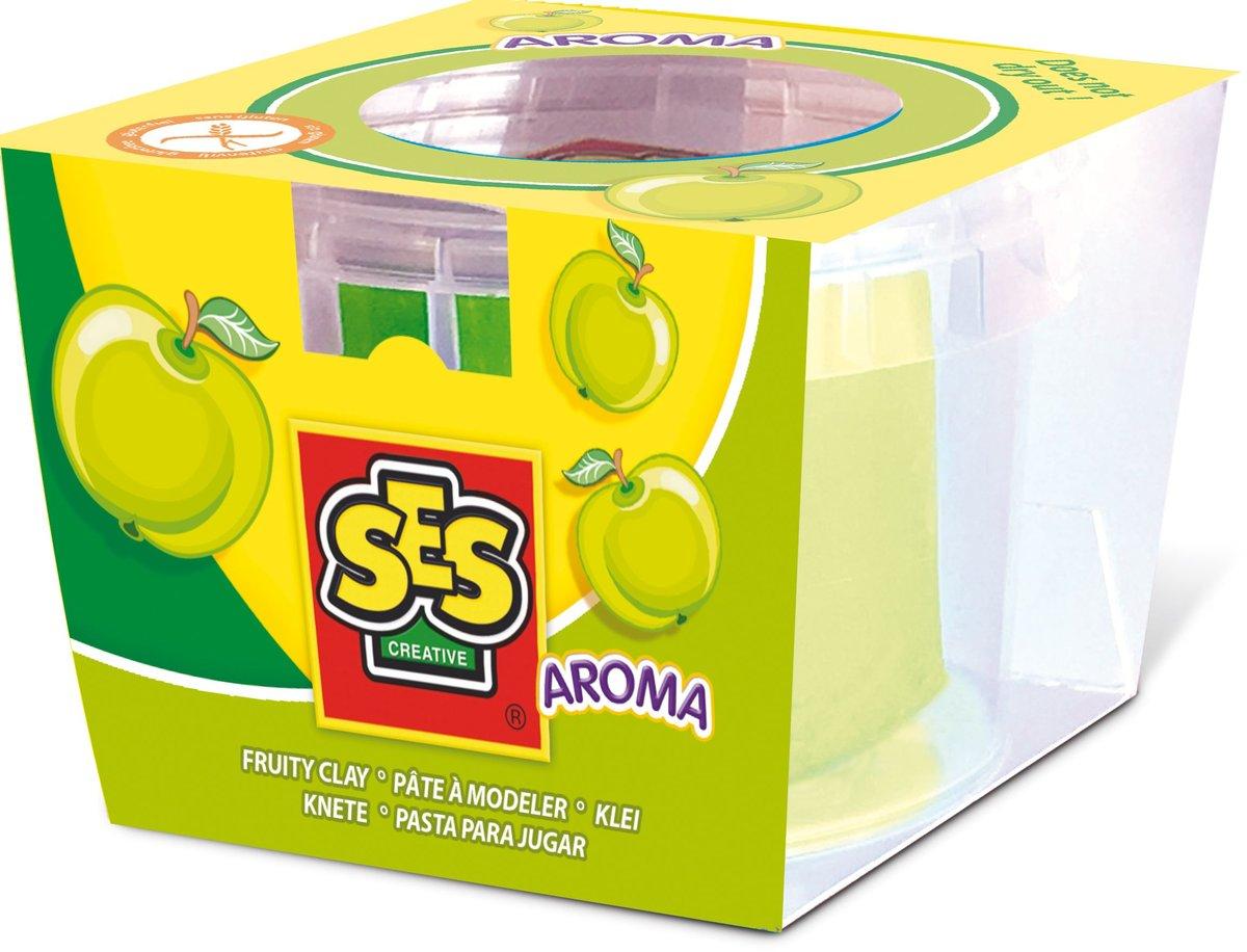 SES Creative, ciastolina o zapachu jabłka - SES Creative