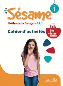 Sesame 1. Ćwiczenia + Audio Online + Ćwiczenia online-Denisot Hugues, Capouet Marianne