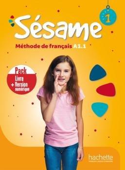 Sesame 1. Podręcznik + Podręcznik Online /PACK/-Denisot Hugues, Capouet Marianne
