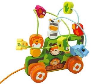 Sevi, zabawka do ciągnięcia Pętla motoryczna Safari-SEVI