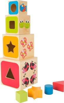 SFD, kubeczki drewniane, wieża ABC-SFD