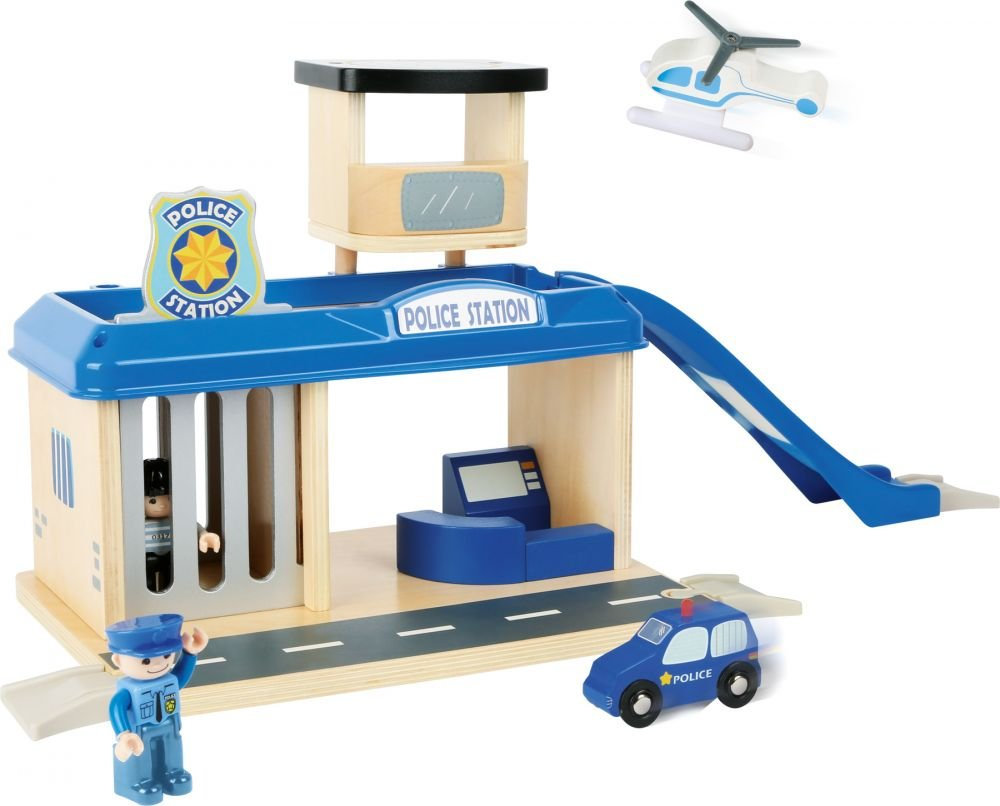 SFD, zabawka Posterunek policji, zestaw
