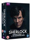Sherlock: Complete Series 1-4 & the Abominable Bride (brak polskiej wersji językowej)