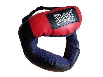 Shin-Do, Kask bokserski, KS-01, czerwony-Shin-Do