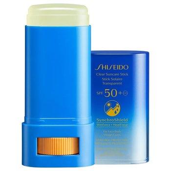 Shiseido, Clear Stick Uv Protector Spf50+ Sztyft Przeciwsłoneczny-Shiseido