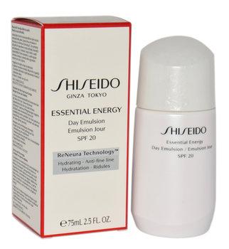 Shiseido, Essential Energy, emulsja nawilżająca do twarzy na dzień, SPF 20, 75 ml-Shiseido