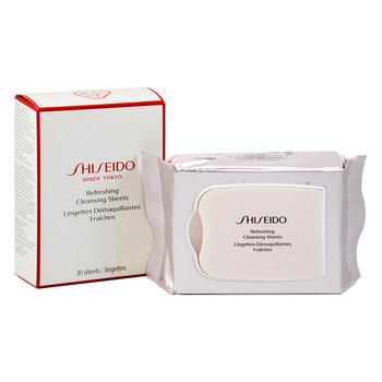 Shiseido, Ginza Tokyo, odświeżające chusteczki do demakijażu, 30 szt.-Shiseido