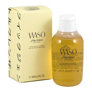 Shiseido, Waso, bezalkoholowy i beztłuszczowy żel do mycia i demakijażu twarzy, 150 ml-Shiseido