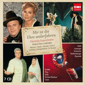 Shone Nacht, du Liebesnacht - Opera auf Deutch (Limited Edition)-Rothenberger Anneliese, Koth Erika, Grummer Elisabeth, Rysanek Leonie, Gedda Nicolai, Prey Hermann, Frick Gottlob