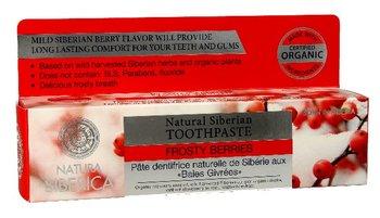 Siberica, Natura, pasta do zębów świeży oddech Lodowe Jagody, 100 g-Natura Siberica