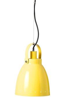 SillyU, Lampa 7-819, metalowa, żółta-SillyU