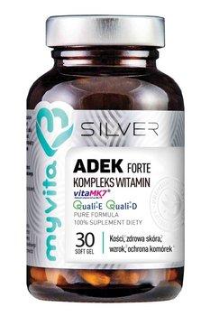 SILVER 100% ADEK Forte kompleks witamin, 30kaps. MyVita-MyVita