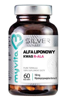 SILVER 100% Kwas Alfaliponowy R-ALA 150mg, 60kaps. MyVita-MyVita