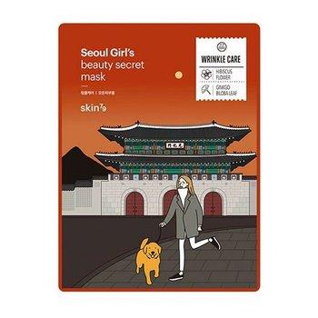 Skin79, Seoul Girl's Beauty Mask Wrinkle Care maska w płacie przeciwstarzeniowa 20g-Skin79