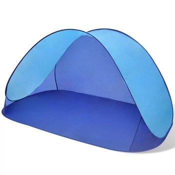 SkĹ'adany namiot plaĹĽowy wodoodporny jasnoniebieski-vidaXL