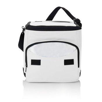 Składana torba termoizolacyjna Biała - biały-XD COLLECTION