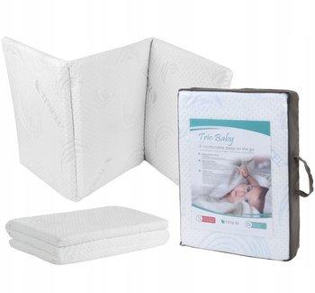 Składany materac do łóżeczka turystycznego SEVERNO KIDS Trio Baby, biały, 120x60 cm-SEVERNO kids