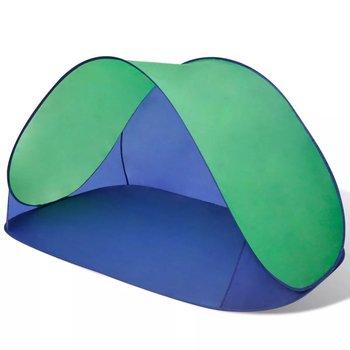 Składany namiot plażowy wodoodporny zielony-vidaXL