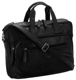 Skórzana torba na laptopa 15 cali męska Rovicky