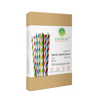 Słomki ekologiczne, mix, 50 sztuk -Polleaf