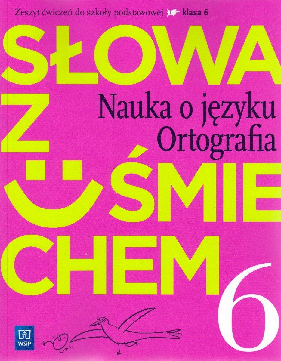 słowa z uśmiechem klasa 6 podręcznik pdf