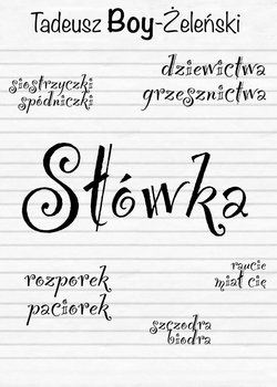 Słówka-Boy-Żeleński Tadeusz
