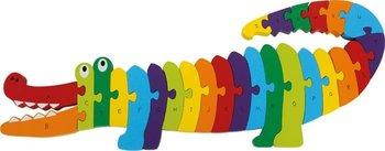 Small Foot Design, puzzle Krokodyl ABC-Small Foot Design