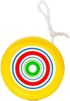 Small Foot, jojo drewniane żółte Yo-yo -small foot
