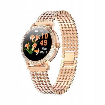 Smartwatch Damski SG-Gadgets LW20 - złoty z cyrkoniami -SG-Gadgets